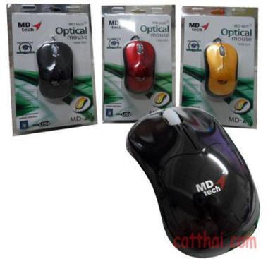 Mouse MD-TECH Combo 50ตัวราคา 100 บาท